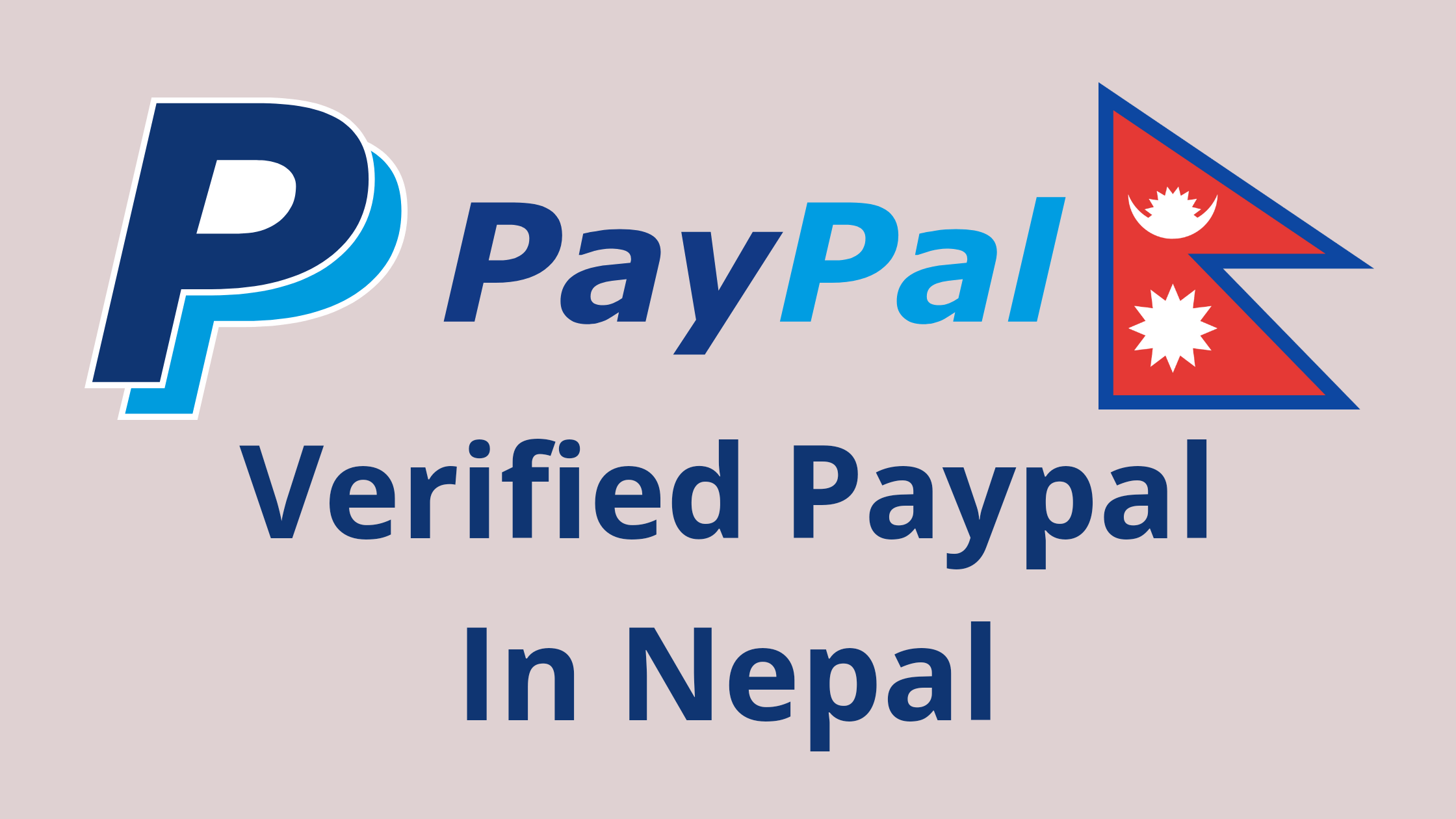 Create Verified Paypal In Nepal